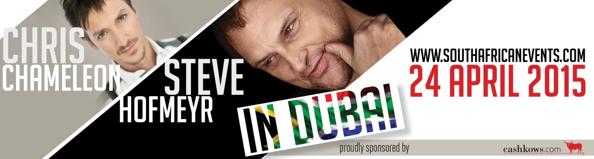Chris  Steve in Dubai Facebook Banner